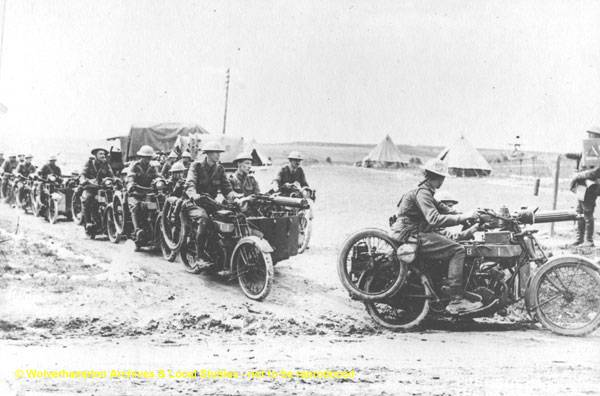 World War 1 - Machine Gun Carriers